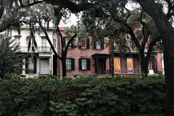 Savannah, Georgia. Houses.