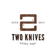 Two knives by Paul Saksin